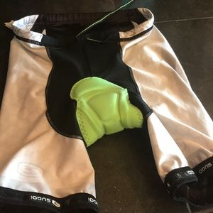 Sugoi cycling padded shorts